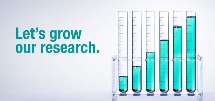 Let's grow our research