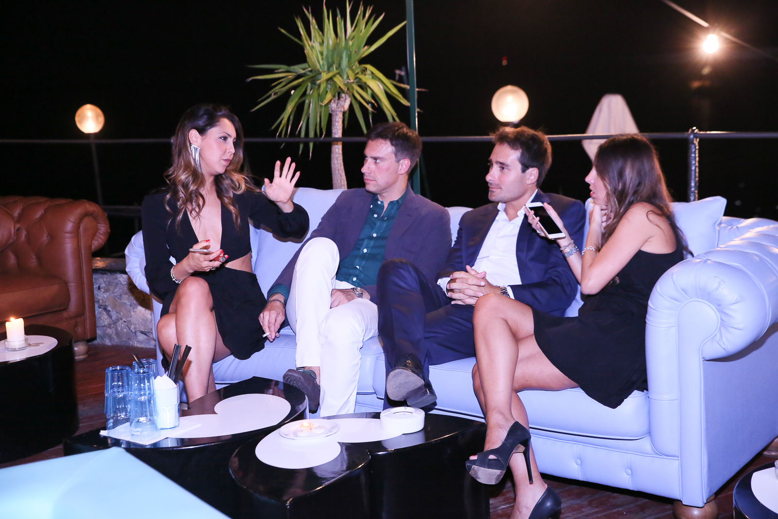Francesca Cristalli, Alessandro Pontoni, Lorenzo e Valentina Puglisi